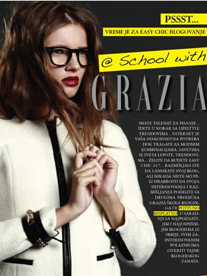 GRAZIA škola  bloginga