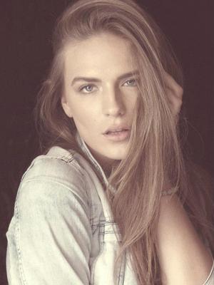 Maja Kričak, model