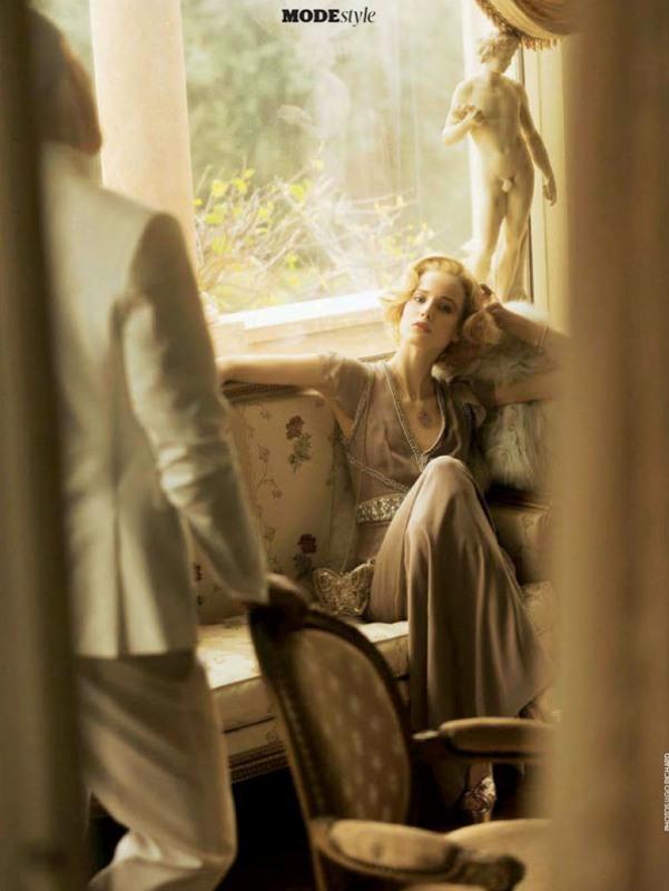 """Stil """"Velikog Getsbija"""" u časopisu Madame Figaro"""