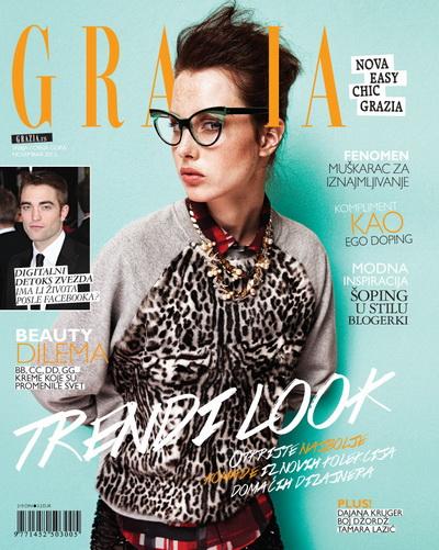 U novembarskom broju magazina GRAZIA