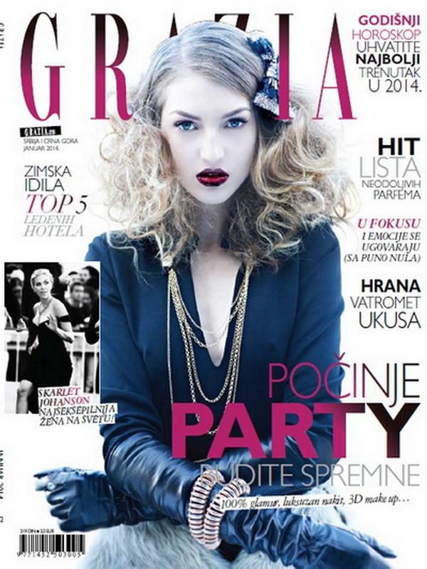 U januarskom broju magazina GRAZIA
