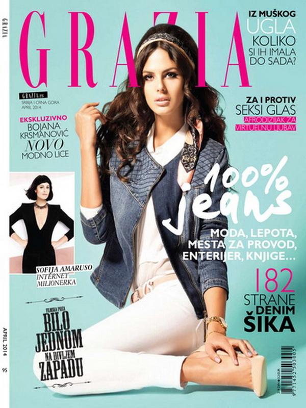 U aprilskom broju magazina GRAZIA
