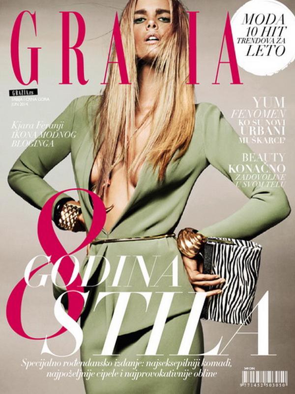 U junskom broju magazina GRAZIA