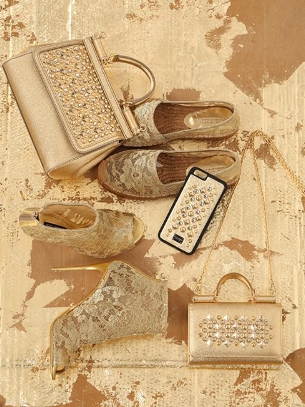 Zlatna kolekcija aksesoara Dolce & Gabbana