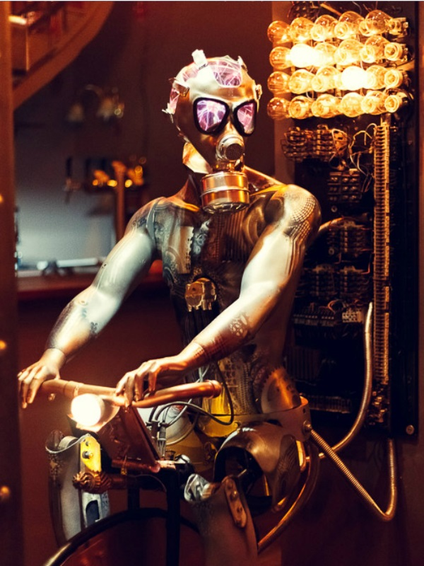 Steampunk kafe - povratak u budućnost