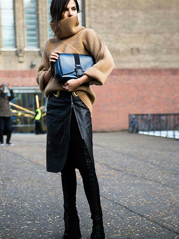Street Style - London Fashion Week 2016.