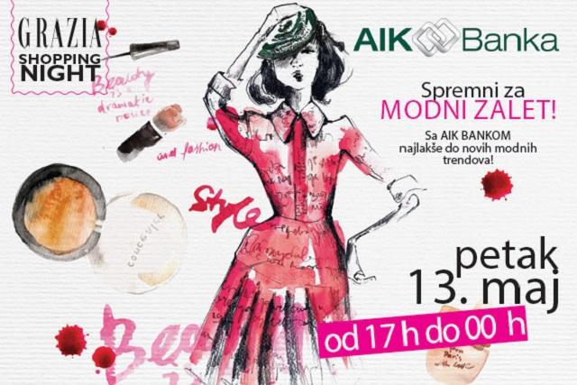 AIK Banka Grazia Shopping Night - Knez Mihailova i Bulevar Kralja Aleksandra