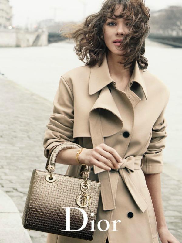 Marion Kotijar u novoj Lady Dior kampanji