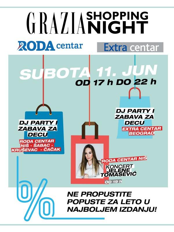 Grazia Shopping Night širom Srbije!