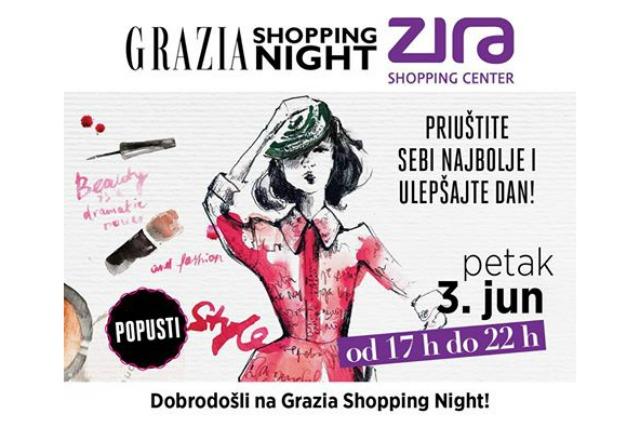 Izveštaj sa manifestacije - Noć kupovine u Zira shopping centru