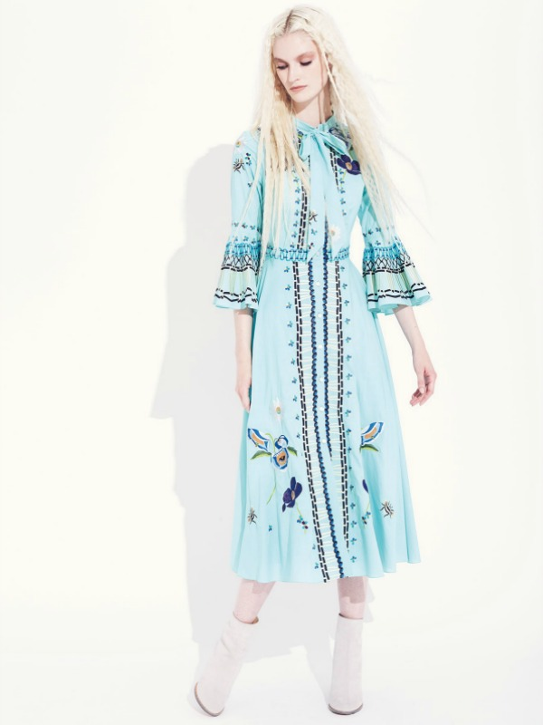 Novi etno: Temperley London Resort 2017