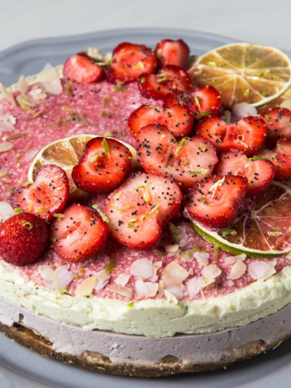 Fit desert: voćni kolač bez pečenja