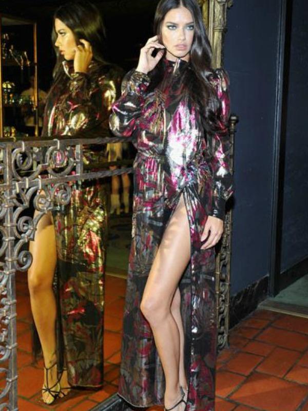 Look dana: Adrijana Lima u Marc Jacobs haljini