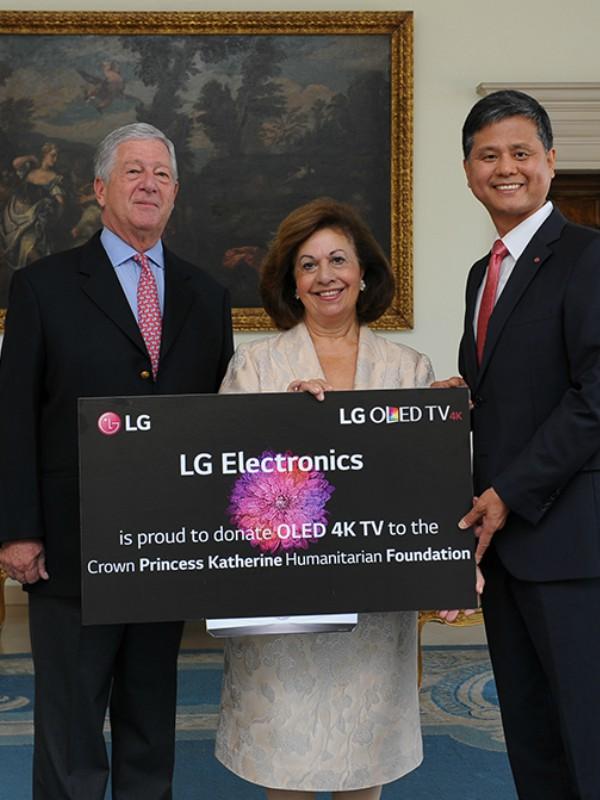 LG donirao OLED 4K televizor Fondu NJ. K. V. Princeze Katarine