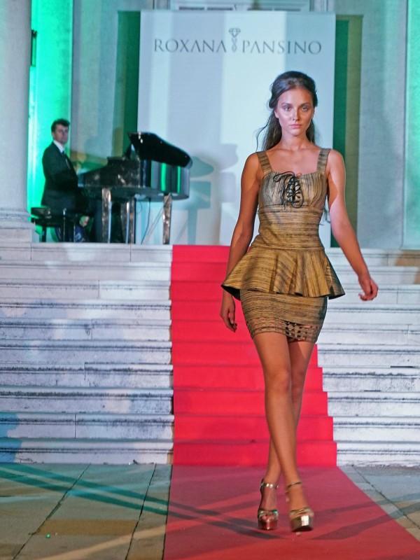 Glamurozna Roxana Pansino modna revija na Belom Dvoru