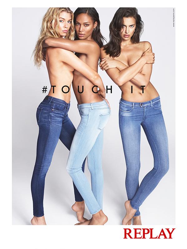 Irina, Joan i Stella u novoj kampanji za Replay Touch