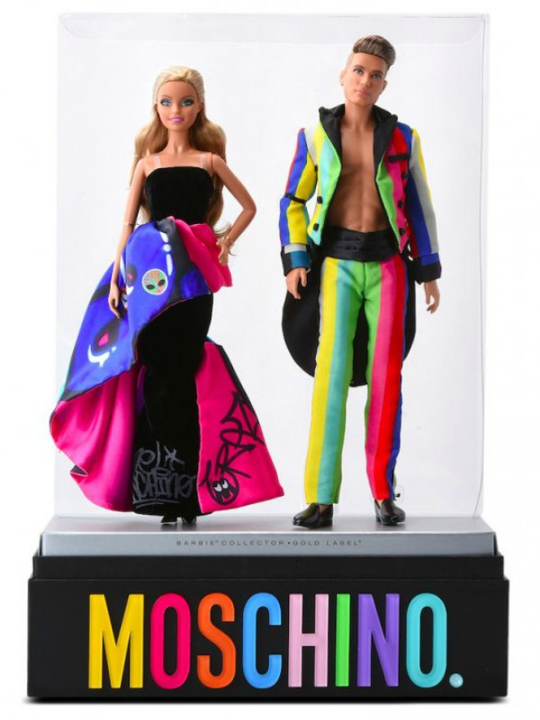 Mattel x Moschino: poseban set Barbi & Ken