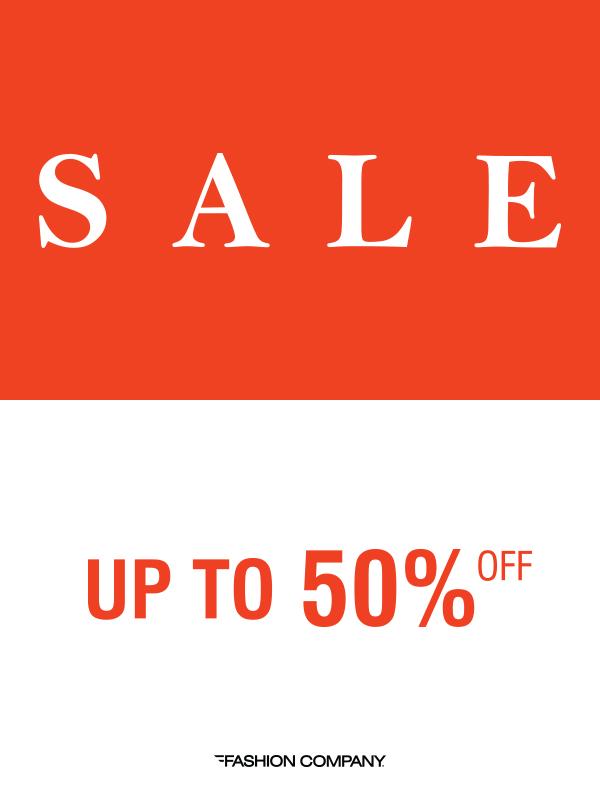 Praznično sniženje do 50% u prodavnicama Fashion Company