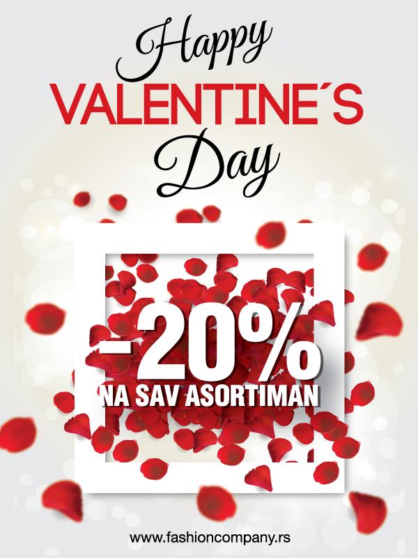 Akcija za Dan zaljubljenih