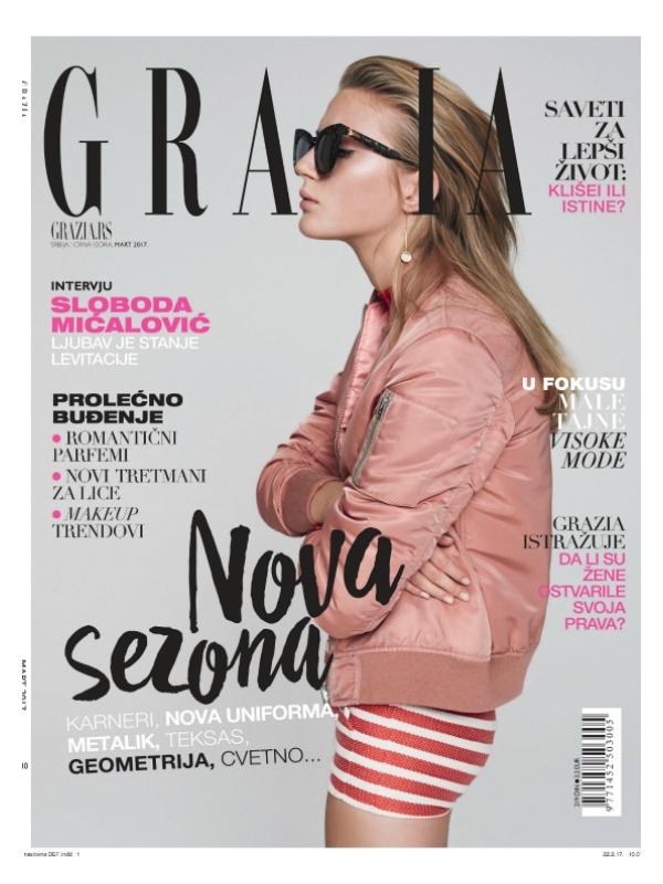 Šta vam donosi GRAZIA magazin u martovskom broju?