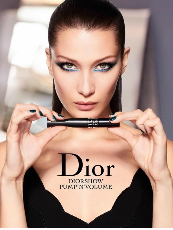 Bela Hadid u novoj Dior make up kampanji