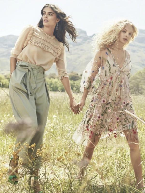 Romantična H&M kolekcija za prolećnu sezonu