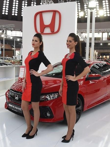 Honda Srbija predstavila nove modele na Međunarodnom salonu automobila