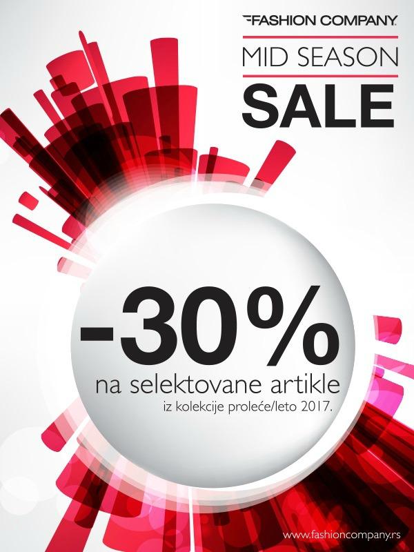 Mid Season Sale u Fashion Company radnjama