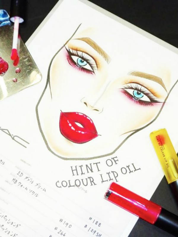 Hint of Color - sjajevi za usne brenda MAC
