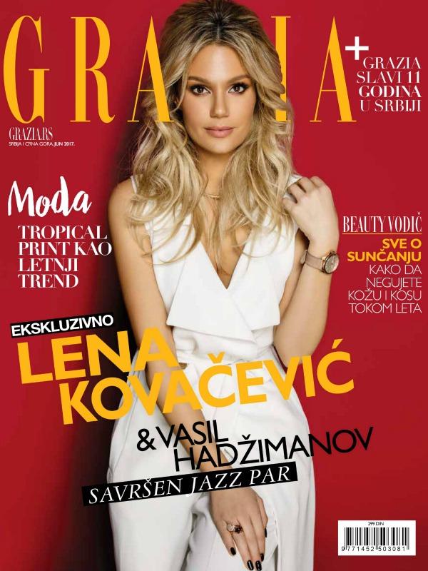 Rođendanski broj magazina Grazia                                                   11 godina u Srbiji!