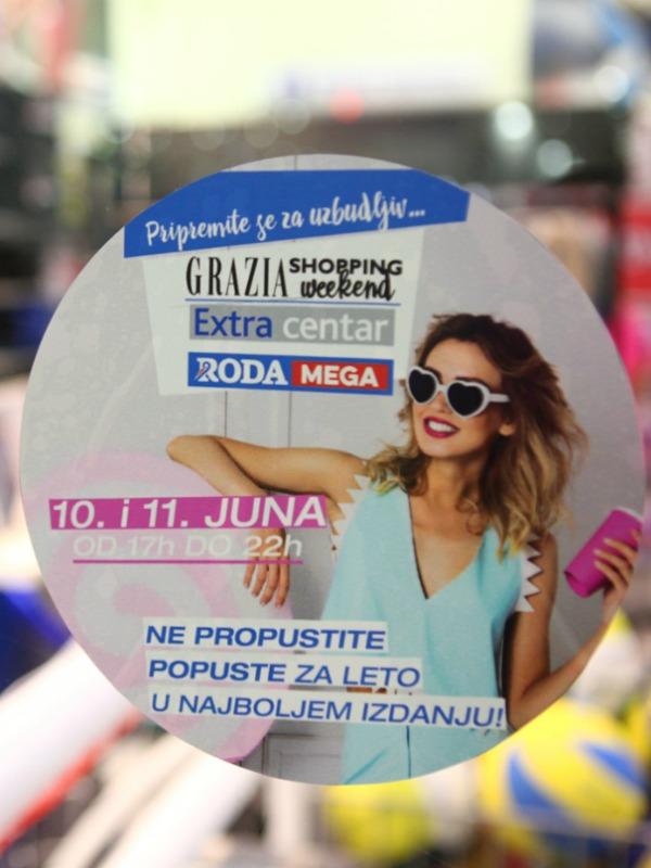 Izveštaj sa događaja – Grazia Shopping Weekend u Roda centrima i Extra centru