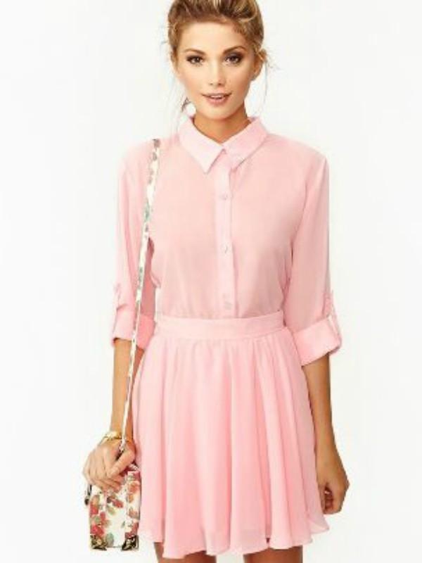Mala ružičasta haljina