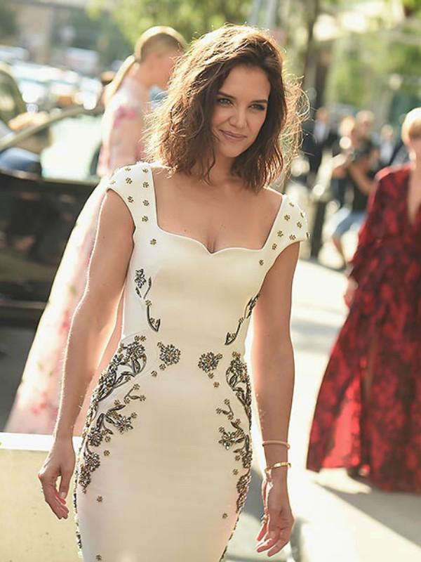 Look dana: Kejti Holms u Zac Posen haljini