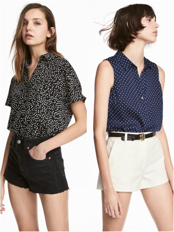10 savršenih letnjih bluza iz H&M-a do 2000 dinara