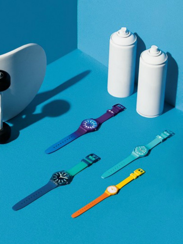 Swatch objavio letnju kolekciju satova Action Heroes i Spicy Islands