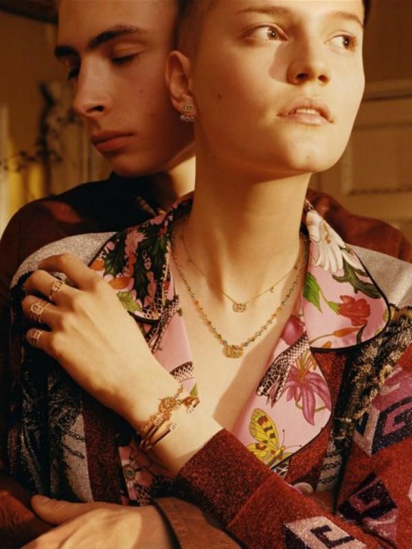 Reklamna kampanja nakita Gucci