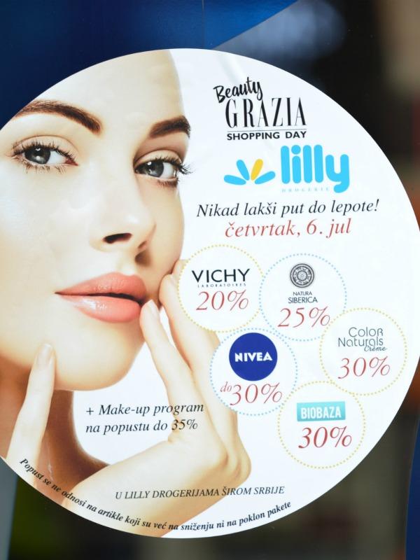 Izveštaj sa događaja -  Beauty Grazia Shopping Day & Lilly