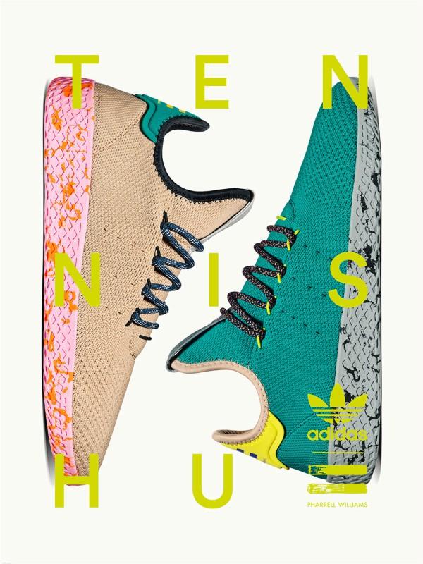 Farel Vilijams predstavlja nove modele adidas Tennis Hu
