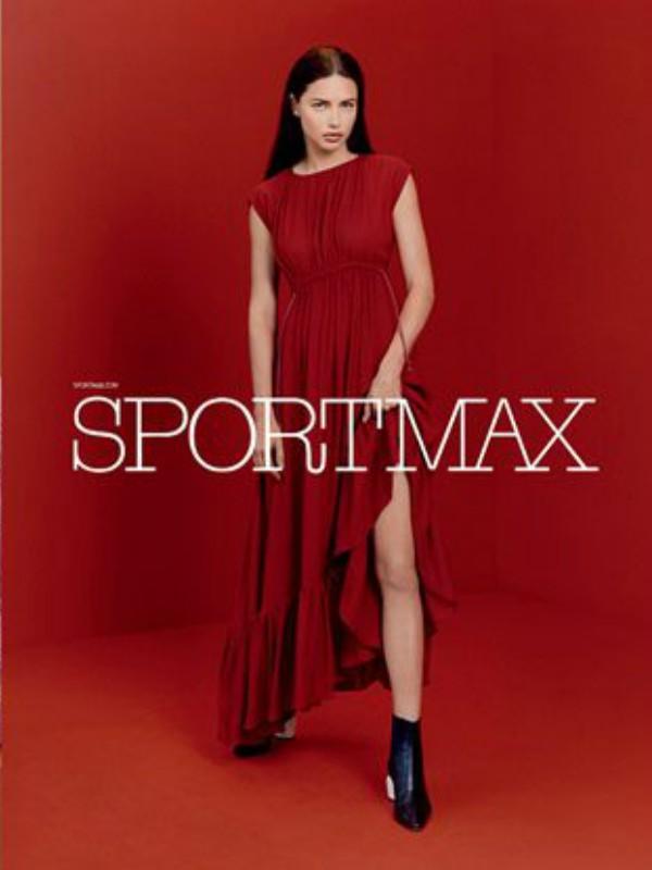 Adrijana Lima u reklamnoj kampanji Sportmax Pre-Fall 2017