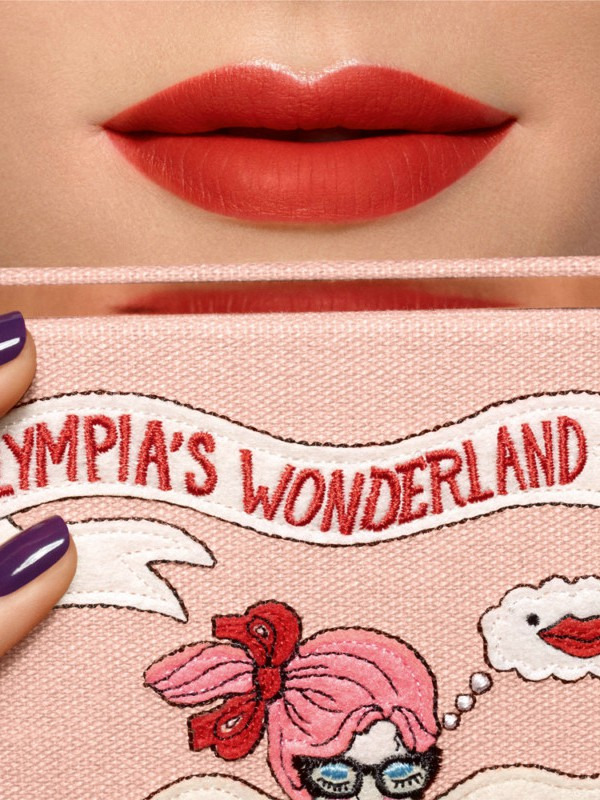 Olympia's Wonderland:  nova kolekcija šminke Olimpie Le Tan i Lancome