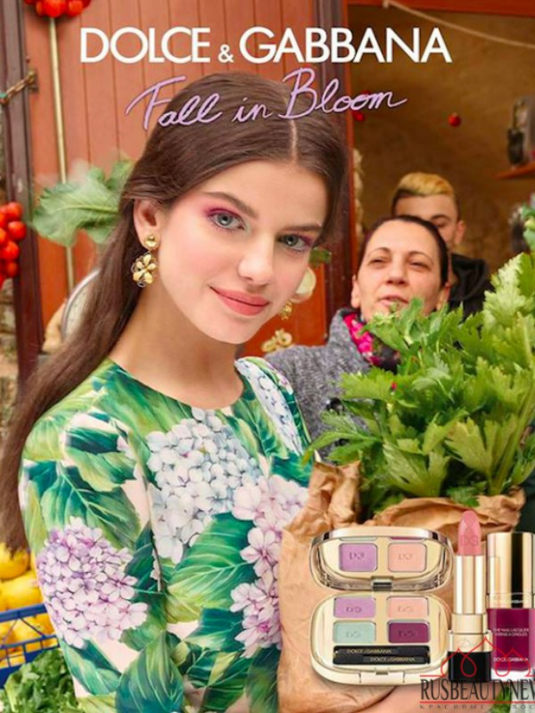 Dolce & Gabbana makeup kolekcija Fall in Bloom 2017