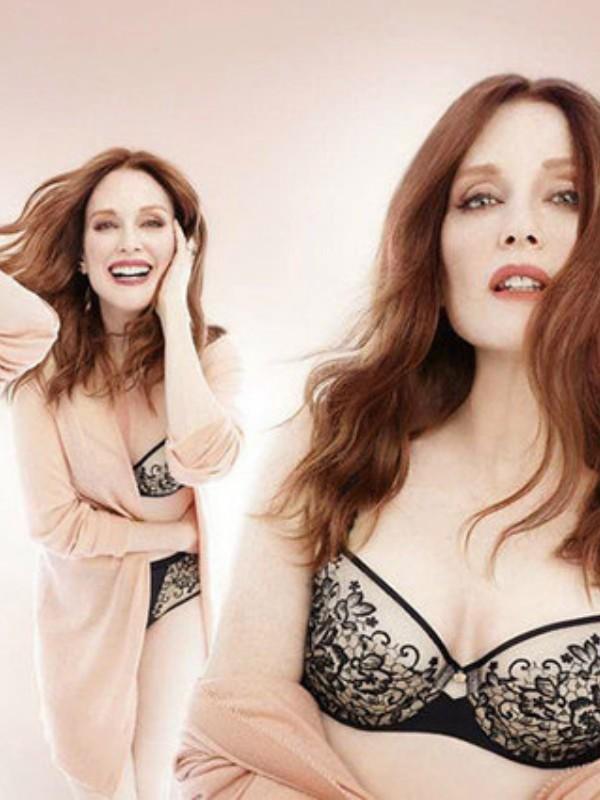 Džulijen Mur u novoj reklamnoj kampanji donjeg rublja