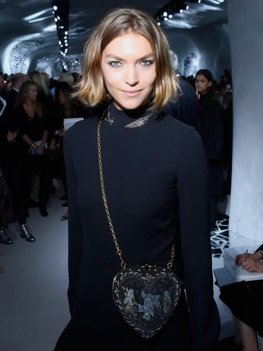 Natalia Vodianova i drugi gosti na reviji Christian Dior