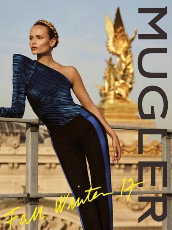 Snažna žena: reklamna kampanja Mugler