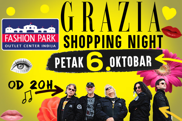 Grazia Shopping Night u Fashion Park Outletu, 6. Oktobar – prva jesenja noć kupovine