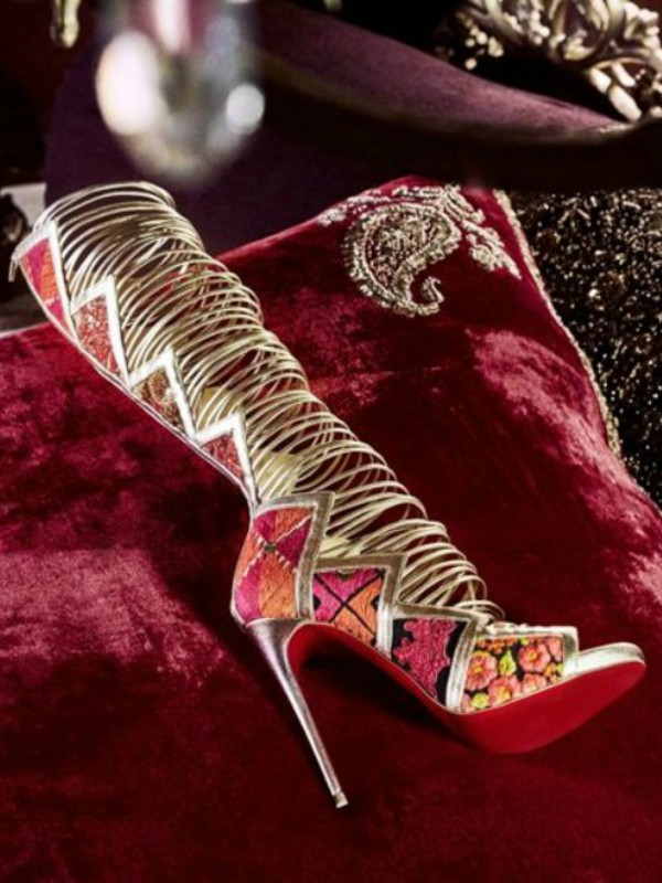 Indijska kinematografija: nova kolekcija cipela Christian Louboutin