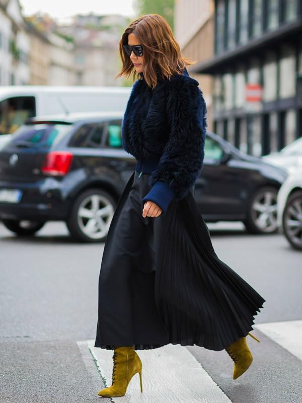 30 plisiranih suknji za jesen