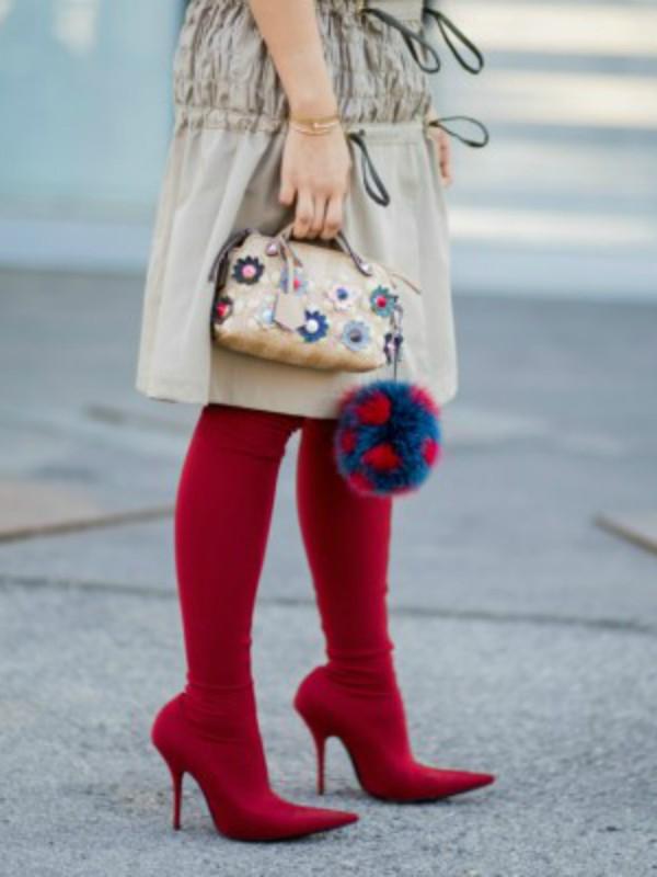 40 načina da nosite crvene čizme ove jeseni