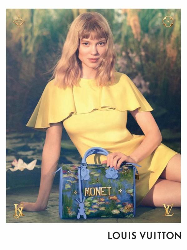 Lea Sejdu - lice nove kolekcije Louis Vuitton x Jeff Koons