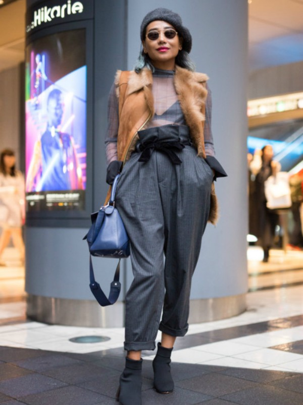 Street style: Tokio Fashion Week
